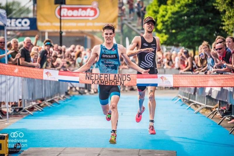 Niek Heldoorn 1e, Donald Hillebregt 2e op het NK Sprint!
